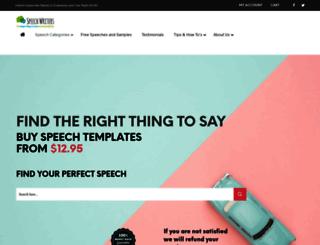 speech-writers.com screenshot