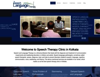 speechlanguagetherapy.in screenshot