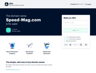 speed-mag.com screenshot