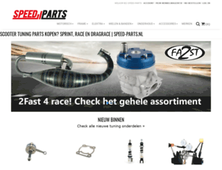 speed-parts.nl screenshot