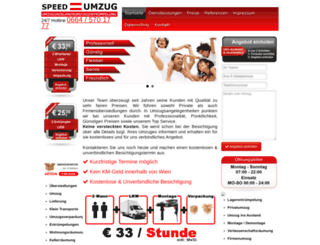 speed-umzug.at screenshot