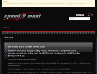 speed2meet.de screenshot
