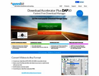 speedbit.com screenshot