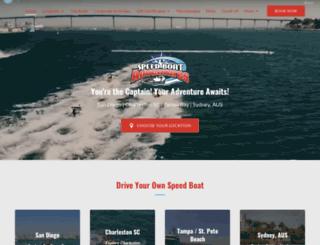 speedboatadventures.com screenshot