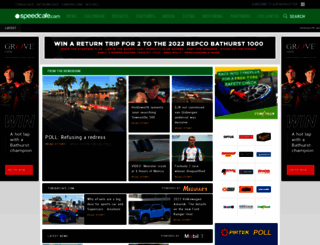 speedcafe.com screenshot
