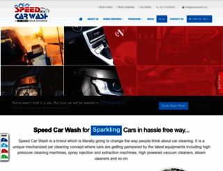 speedcarwash.com screenshot