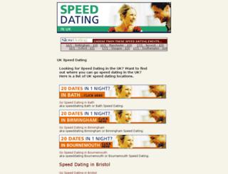 speeddatinginengland.com screenshot