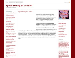 speeddatinglondon.org.uk screenshot