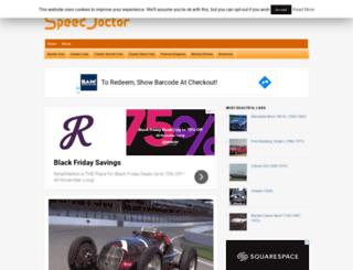 speeddoctor.net screenshot