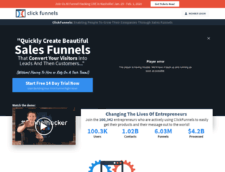 speedfunnels.clickfunnels.com screenshot
