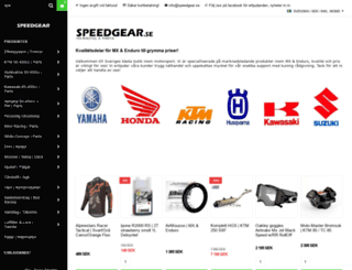 speedgear.se screenshot