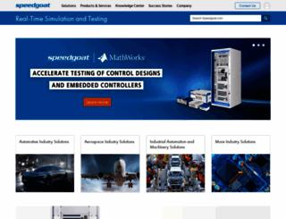 speedgoat.com screenshot