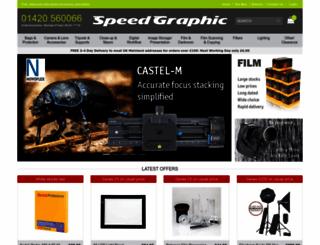 speedgraphic.co.uk screenshot