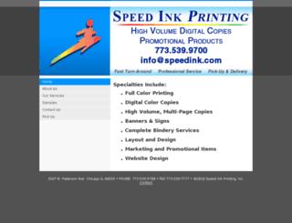 speedink.com screenshot