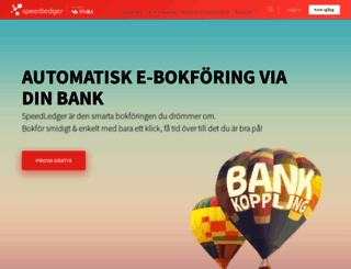 speedledger.se screenshot