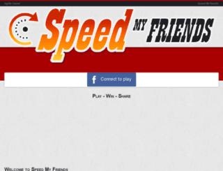 speedmyfriends.com screenshot