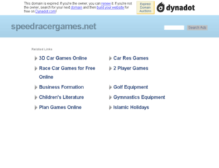 speedracergames.net screenshot