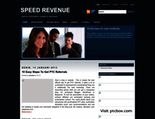 speedrevenue.blogspot.com screenshot