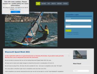 speedsailing.com screenshot