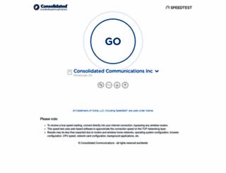 speedtest.surewest.net screenshot