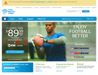 speedtest.twcsc.com screenshot
