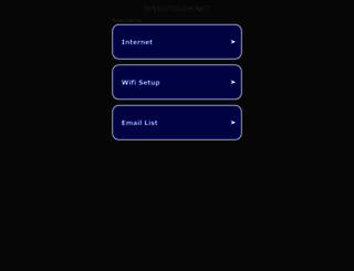 speedtouch.net screenshot
