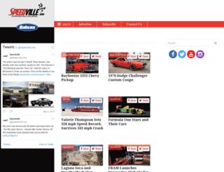speedville.com screenshot
