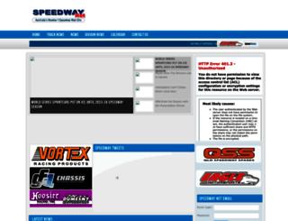 speedway.net.au screenshot