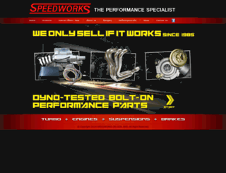speedworks.com.my screenshot
