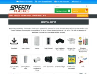 speedy-plastics.co.uk screenshot
