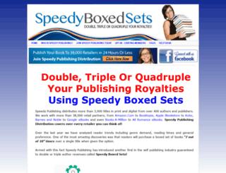 speedyboxedsets.com screenshot