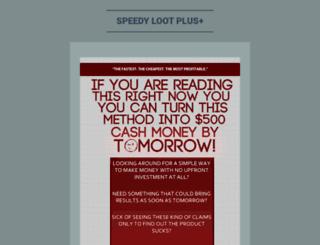 speedylootplus.wordpress.com screenshot