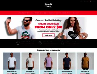 speedytees.com.au screenshot