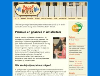 speelmuziek.nl screenshot