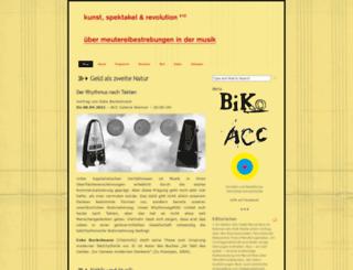 spektakel.blogsport.de screenshot
