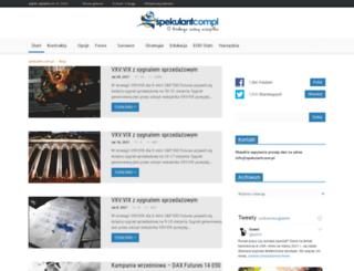 spekulant.com.pl screenshot