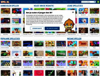 spel.nl screenshot