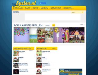 spellen.nl screenshot