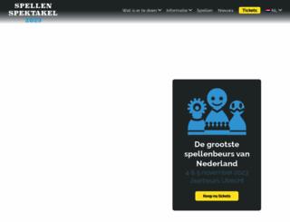 spellenspektakel.nl screenshot