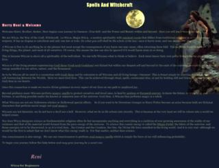 spells-witchcraft.org screenshot