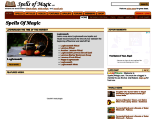 spellsofmagic.com screenshot