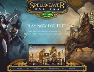spellweaver-tcg.com screenshot