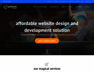spellwebdesign.com screenshot