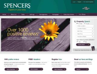 spencers-property.co.uk screenshot