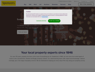 spencers.co.uk screenshot