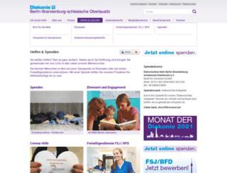 spenden.diakonie-portal.de screenshot