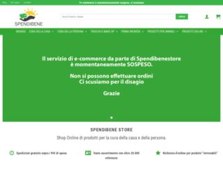 spendibenestore.it screenshot