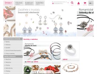 sperkymoda.cz screenshot