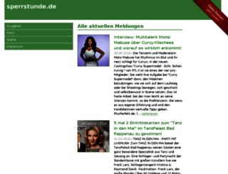 sperrstunde.de screenshot