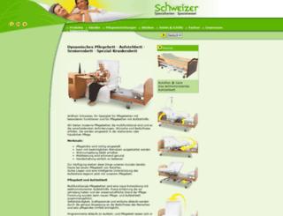 spezialbett.com screenshot